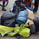 Herausforderung | Wandertage | Gruppe Gepaeck