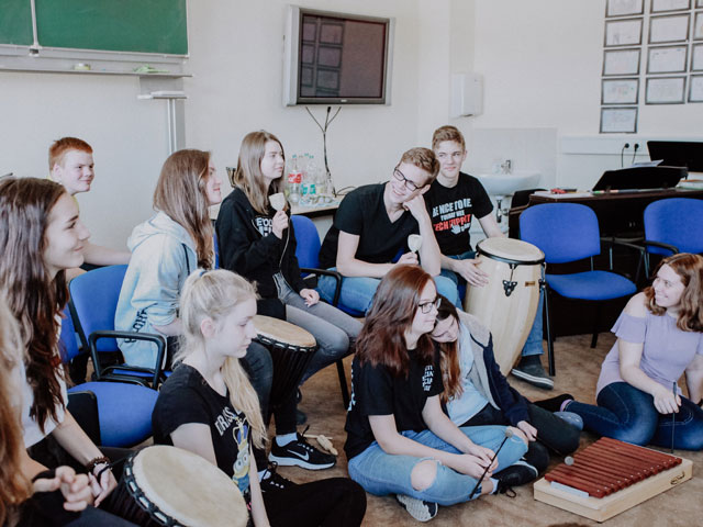 Gemeinschaftsschule | Aktiv Schule Erfurt | Musik Klassenstufe 9